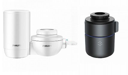 Сравнение фильтров-насадок для смесителей Xiaomi Philips Water Purifier и Xiaomi Yimi Intelligent Monitoring Faucet Water Purifier